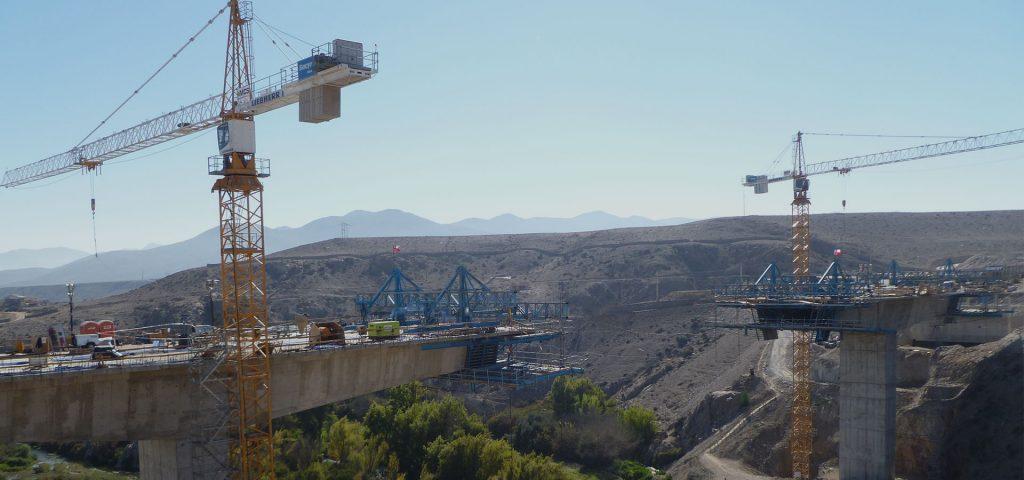Construcción VSL Puente Huasco